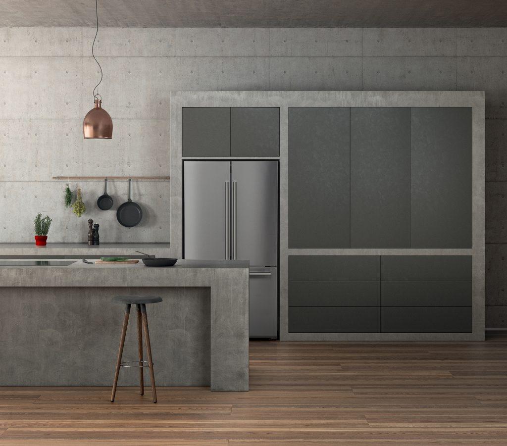 Blomberg_GreyKitchen_fridge